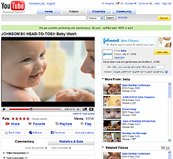 Johnson and Johnson - YouTube Baby Channel