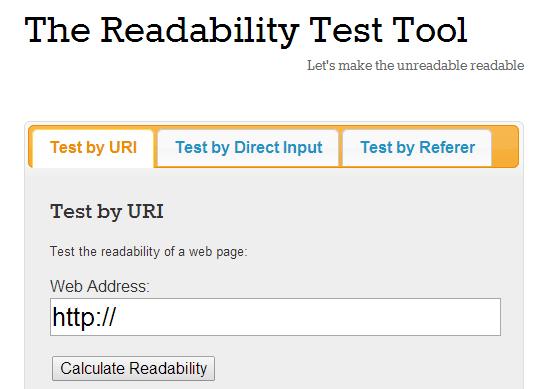 readeability
